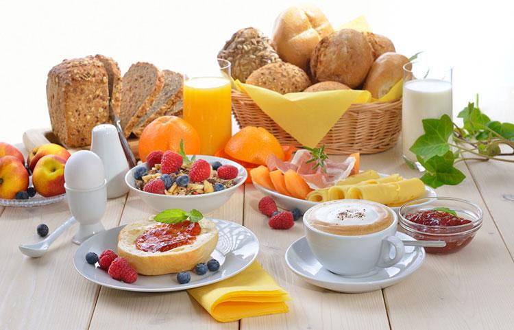 colazione hotel sport rimini 3 stelle