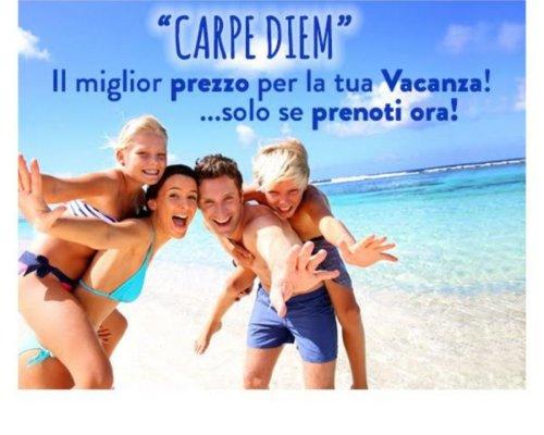 Offerta prenota prima la tua vacanza al mare