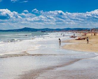 August at Rimini Seaside